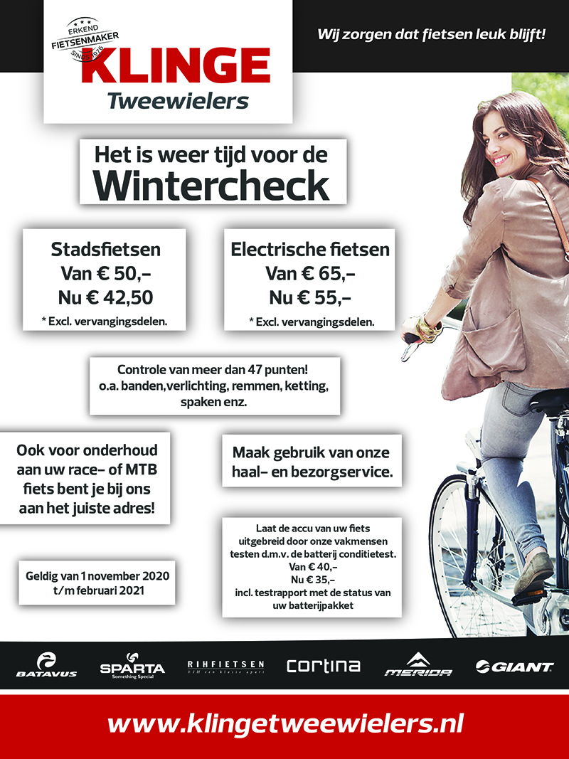Wintercheck Klinge Tweewielers Nieuwleusen 2020